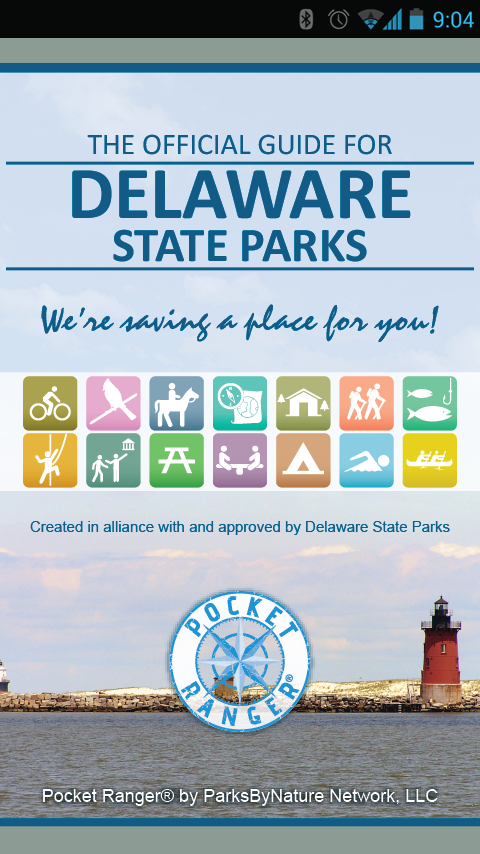 DE State Parks Guide- screenshot