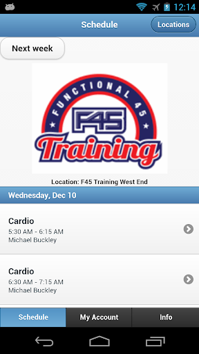 F45 West End