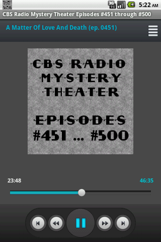 CBS Radio Mystery Theater V.10