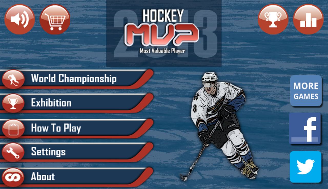 Hockey MVP - screenshot