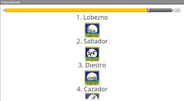 Screenshot of Catalogo Scout