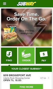 SUBWAY®- screenshot thumbnail