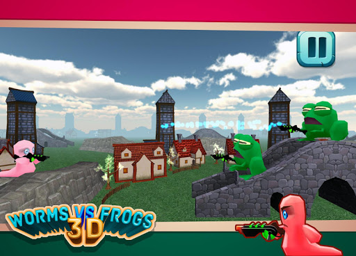 Worms Vs Frogs 3D