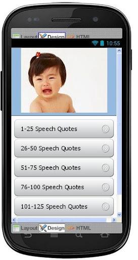 Best Speech Quotes