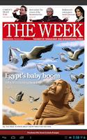 Screenshot of The Week Middle East