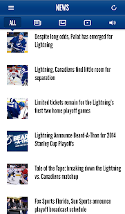 Tampa Bay Lightning Mobile - screenshot thumbnail