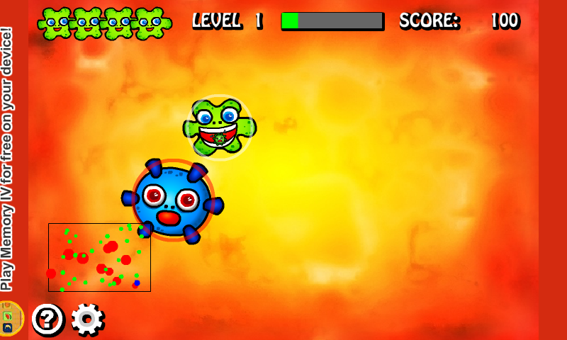 Amoeba's Life- screenshot