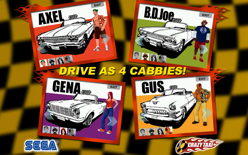 Crazy Taxi Classic v1.52 APK - screenshot