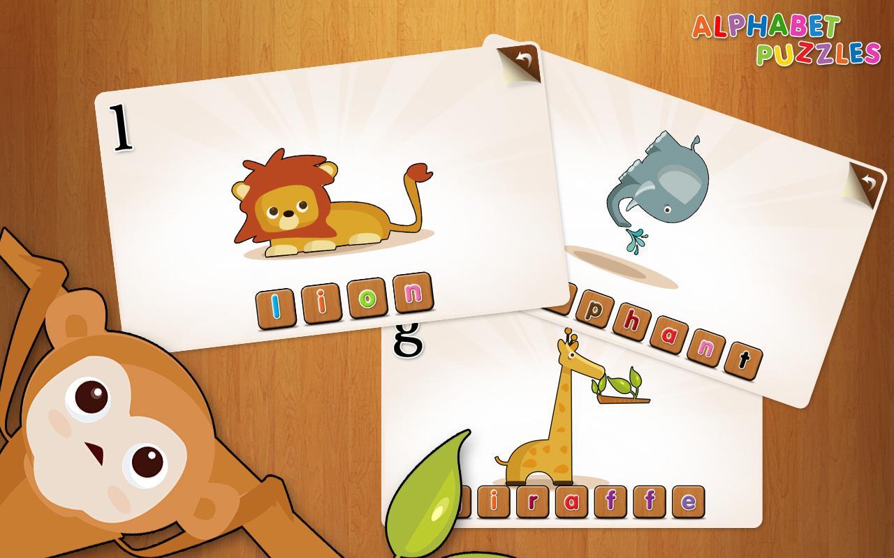 Kids ABC Alphabet Puzzles- screenshot