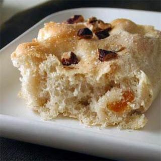 Toasted Hazelnut Focaccia