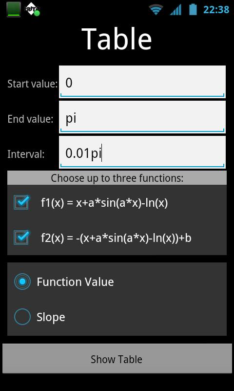 Function Inspector LITE - screenshot
