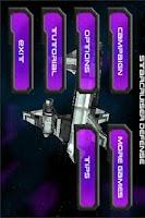 Screenshot of Star Cruiser Defense Demo