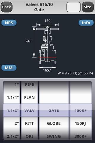 MaxANSI Piping HandBook Pro - screenshot
