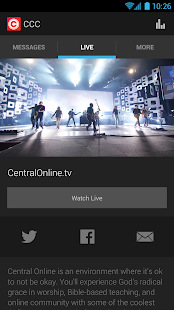 Central Christian Church - screenshot thumbnail