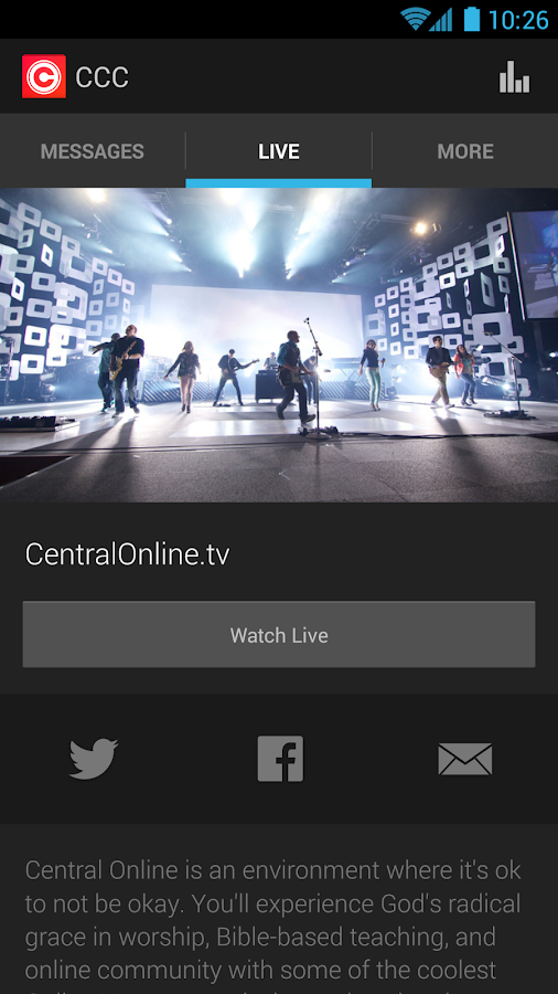 Central Christian Church - screenshot