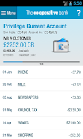 Screenshot of The Co-operative Bank