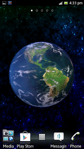 The Earth 3D Live Wallpaper