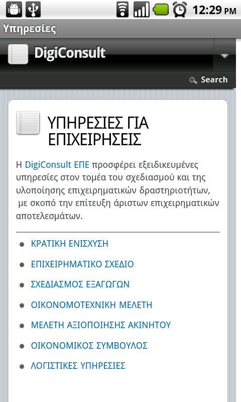 DigiConsult - screenshot