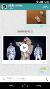 Wiper: Private Texts and Calls - screenshot thumbnail