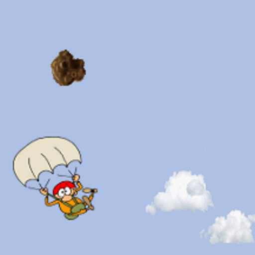 Parachute vs Rocks