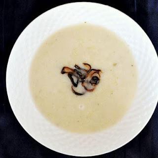 Cauliflower Soup with Crispy Shallots