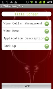 HAYABUSA NFC Wine Library Tβ- screenshot thumbnail