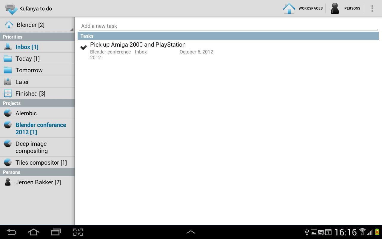 Kufanya todo (lite)- screenshot