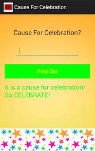 Cause For Celebration - screenshot thumbnail