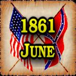 1861 June Am Civil War Gazette