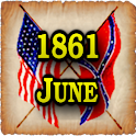 1861 June Am Civil War Gazette logo