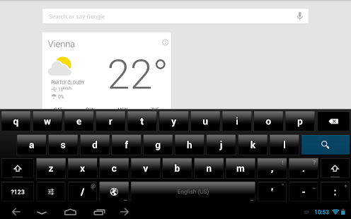 ThyrusHolo Basic CM10 Theme - screenshot thumbnail