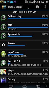 Battery Stats Plus Pro- miniatura screenshot