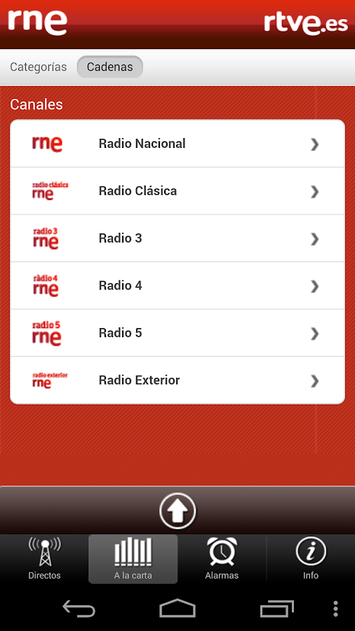 RNE En Directo- screenshot