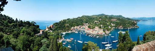 Portofino-Italy-2 - The picturesque harbor of Portofino, Italy.