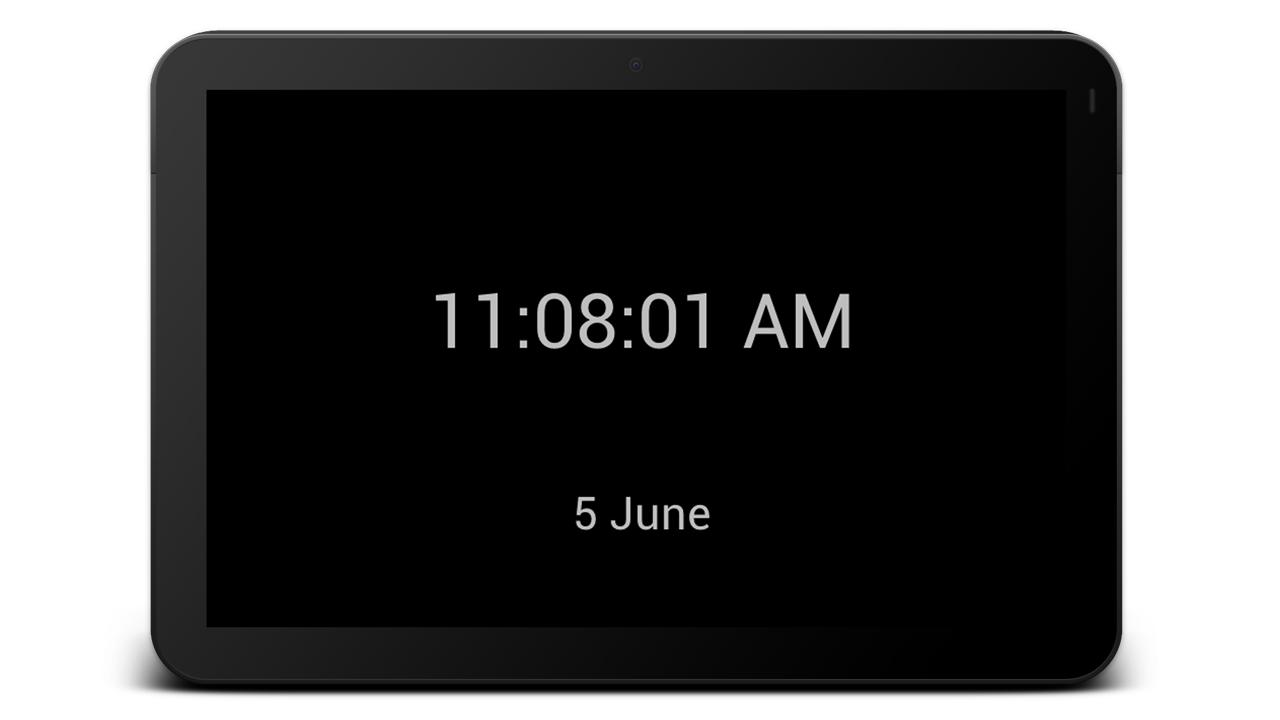 My Clock- screenshot
