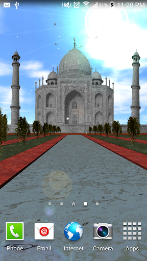 Taj Mahal Best Live Wallpaper