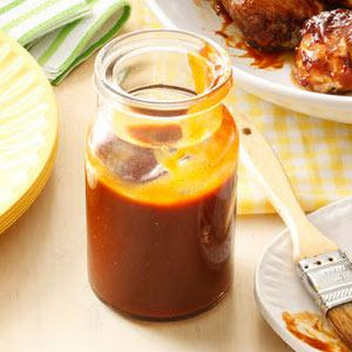 Sweet & Spicy Barbecue Sauce.