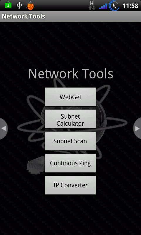 Network Tools - screenshot