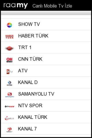 Android Canlı Tv Izleme Resimler