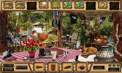 # 292 New Free Hidden Object Games - Last Cottage - náhled