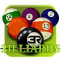 3D Pool game – 3ILLIARDS logo
