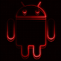 Icon Pack – Neon Red : Android