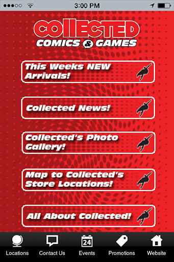 Collected Comics and Games App