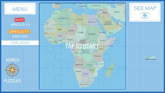 World map puzzle android apps on google play world map puzzle screenshot thumbnail gumiabroncs Gallery