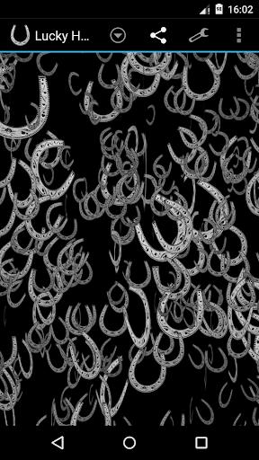 幸运的马蹄3D壁纸