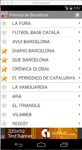 Premsa de Barcelona