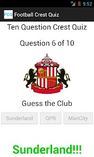 Football Crest Quiz - screenshot thumbnail