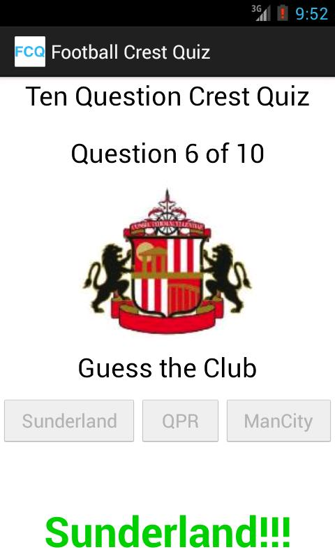 Football Crest Quiz - screenshot