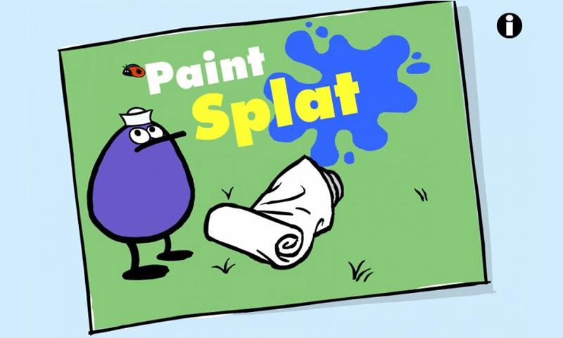 PEEP Paint Splat - screenshot