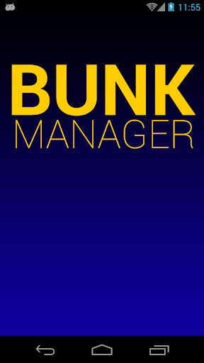 Bunk Manager ( Attendance )